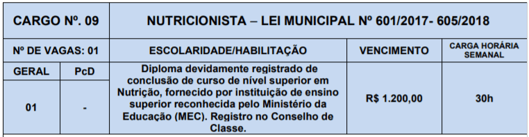 9 - Processo Seletivo Prefeitura de Lagoa Nova-RN: Inscrições abertas