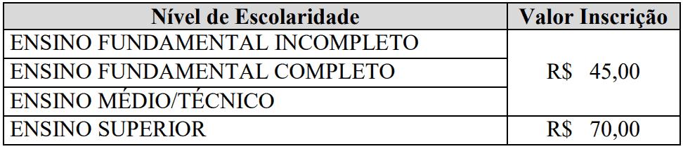 Captura de tela 2021 08 03 110143 - Processo seletivo Prefeitura de Luz MG: Inscrições abertas