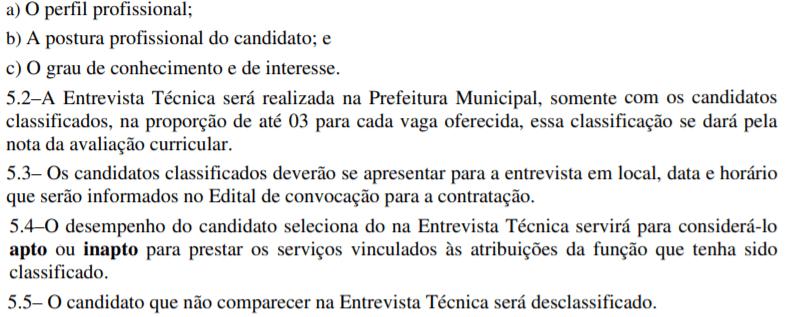 e1 - Processo Seletivo Prefeitura de Novo Gama – GO: Inscrições abertas